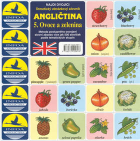 Angličtina  5. Ovoce a zelenina - Tematický obrázkový slovník - Antonín Šplíchal