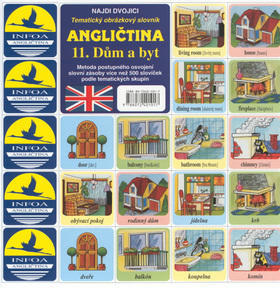 Angličtina 11. Dům a byt - Tematický obrázkový slovník