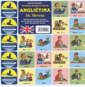 Angličtina 16. Slovesa - Tematický obrázkový slovník - Antonín Šplíchal