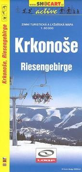 Krkonoše 1:60 000 - Zimní turistická a lyžařská mapa