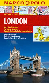 Londýn - lamino MD 1:15 000
