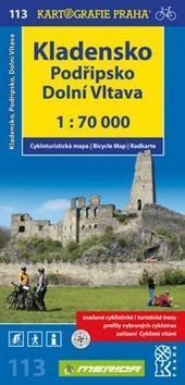 Kladensko, Podřipsko, Dolní Vltava 1: 70 0000 - Cykloturistická mapa 113