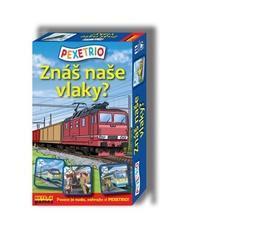 Pexetrio Znáš naše vlaky?
