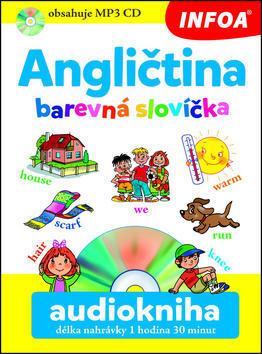 Angličtina barevná slovíčka Audiokniha délka nahrávky 2 hodiny - Pavlína Šamalíková