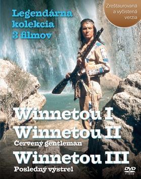 Balíček 3 ks DVD, Winnetou I, II, III Legendárna kolekcia 3 filmov - Zreštaurovaná a vyčistená verzia