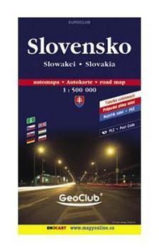 Slovensko 1:500T měkká