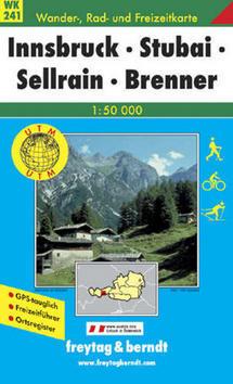 241 Innsbruck Stubai 1:50 000