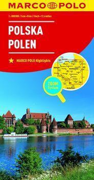 Polsko Polska Polen 1:800 000