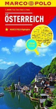 Rakousko Österreich 1:300 000