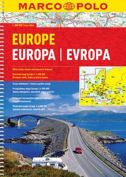 Evropa autoatlas 1:800T