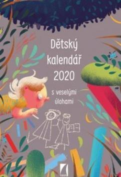 Dětský kalendář 2020 - nástěnný kalendář - s veselými úlohami - Peter Ličko