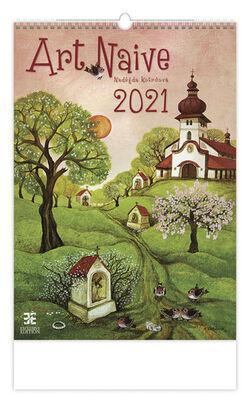 Art Naive - nástěnný kalendář 2021