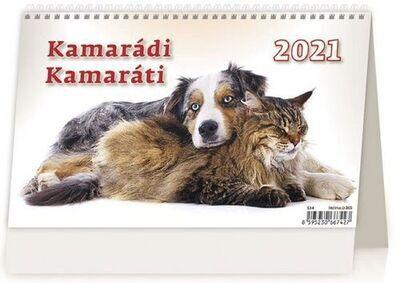 Kamarádi/Kamaráti - stolní kalendář 2021