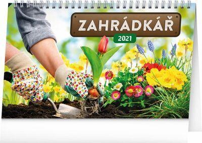 Stolní kalendář Zahrádkář 2021