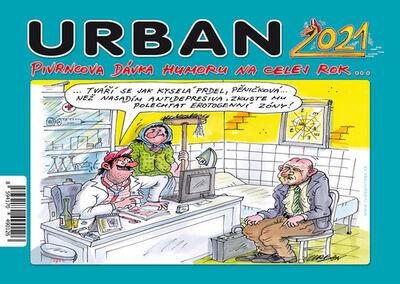 Urban Pivrncova dávka humoru na celej rok 2021 - stolní kalendář - Petr Urban