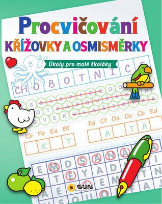 Procvičování Křížovky a osmisměrky - Úkoly pro malé školáky