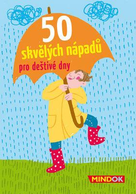 50 skvělých nápadů pro deštivé dny - Nicola Berger